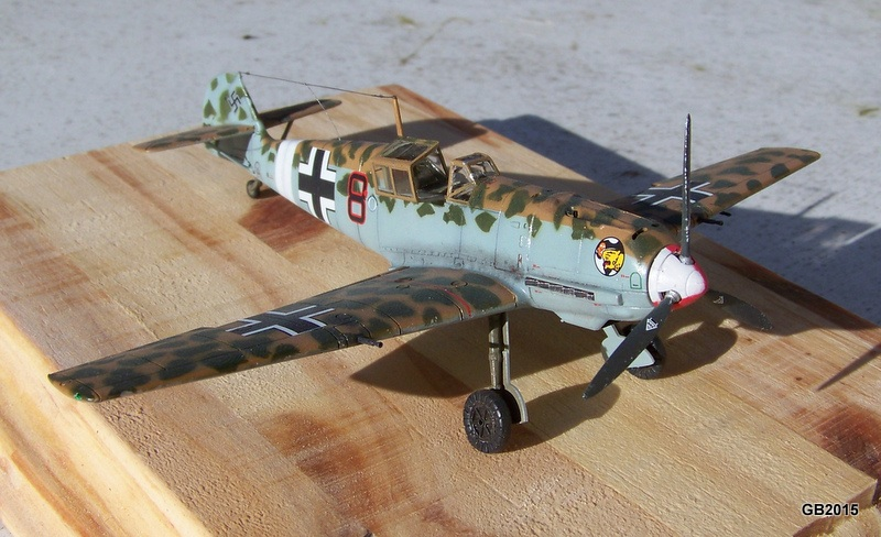 [AIRFIX] Messerschmitt Bf109 E-7 Trop - JG27 100_1913