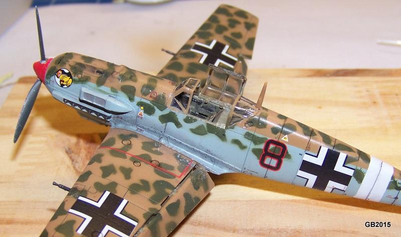 [AIRFIX] Messerschmitt Bf109 E-7 Trop - JG27 100_1914