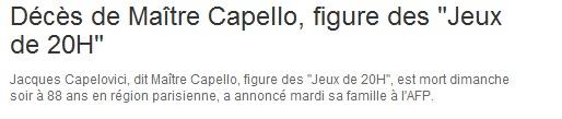 R.I.P Maitre Capello Sans_t82