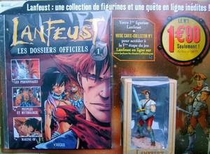 """Test """"Lanfeust les dossiers officiels"""" Editions Atlas Mini-s10"""