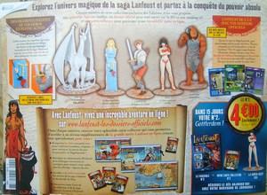 """Test """"Lanfeust les dossiers officiels"""" Editions Atlas Mini-s11"""