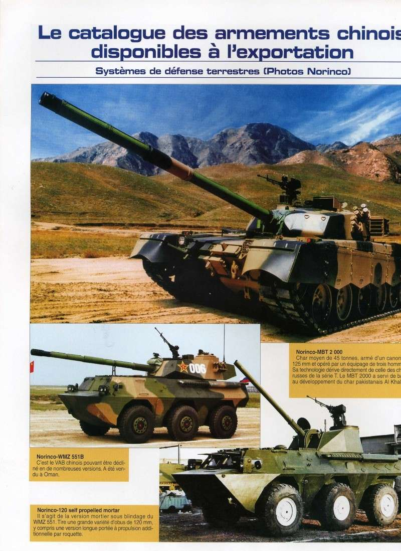 Le catalogue des armements chinois disponibles à l'export Img84110