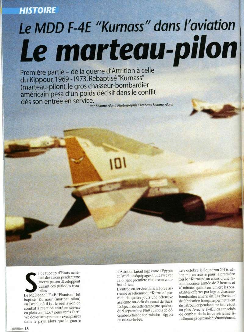 """Le F-4E """"Kurnass"""": Le marteau-pilon d'Israel Img88110"""