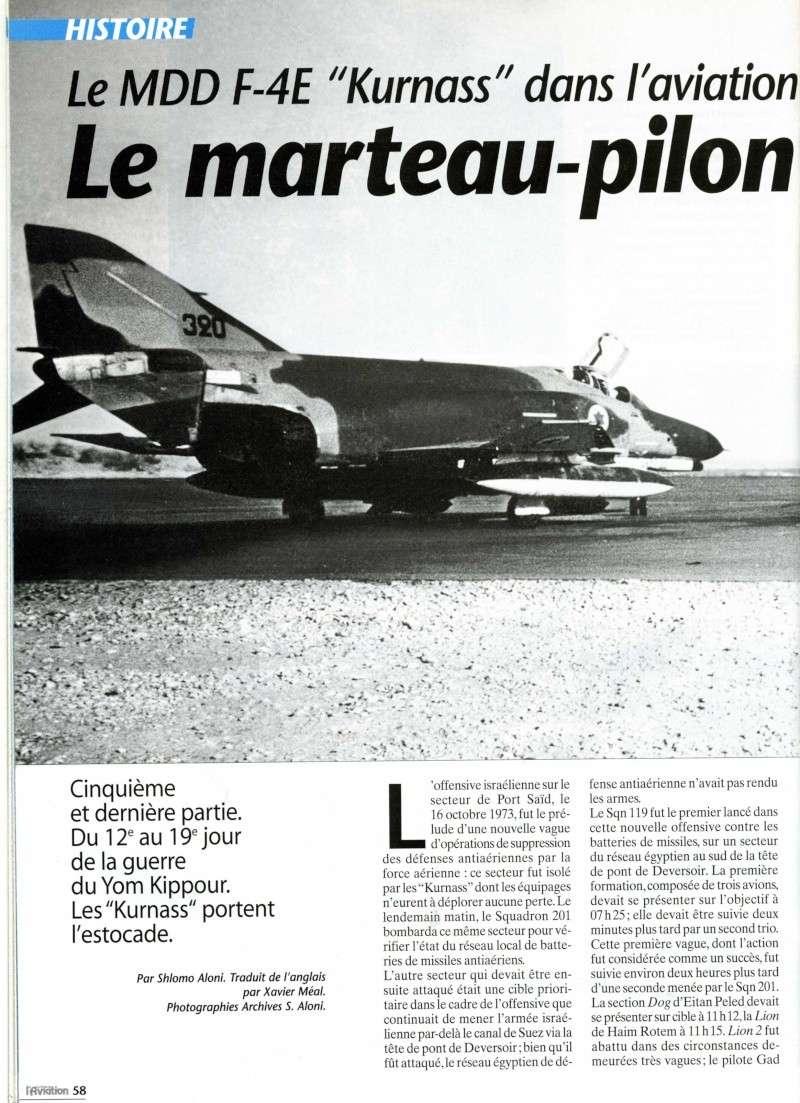 """Le F-4E """"Kurnass"""": Le marteau-pilon d'Israel Img90210"""
