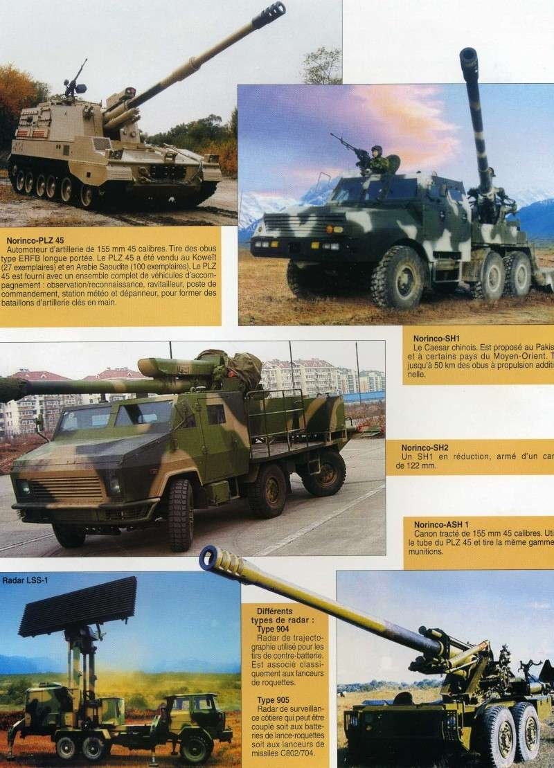 Le catalogue des armements chinois disponibles à l'export Img91310