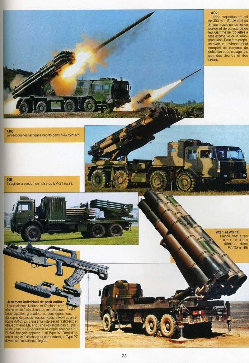 Le catalogue des armements chinois disponibles à l'export - Page 3 Img91410