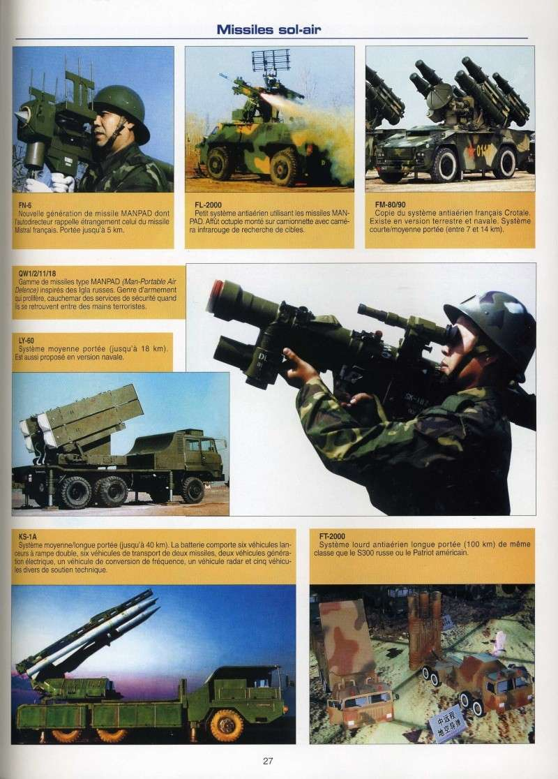 Le catalogue des armements chinois disponibles à l'export - Page 3 Img91810