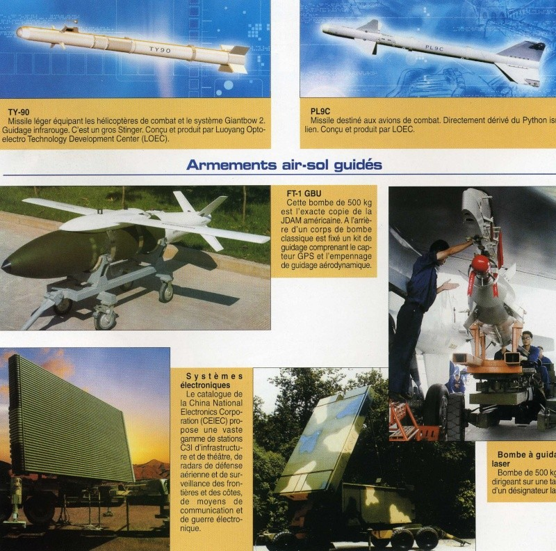 Le catalogue des armements chinois disponibles à l'export Img92310