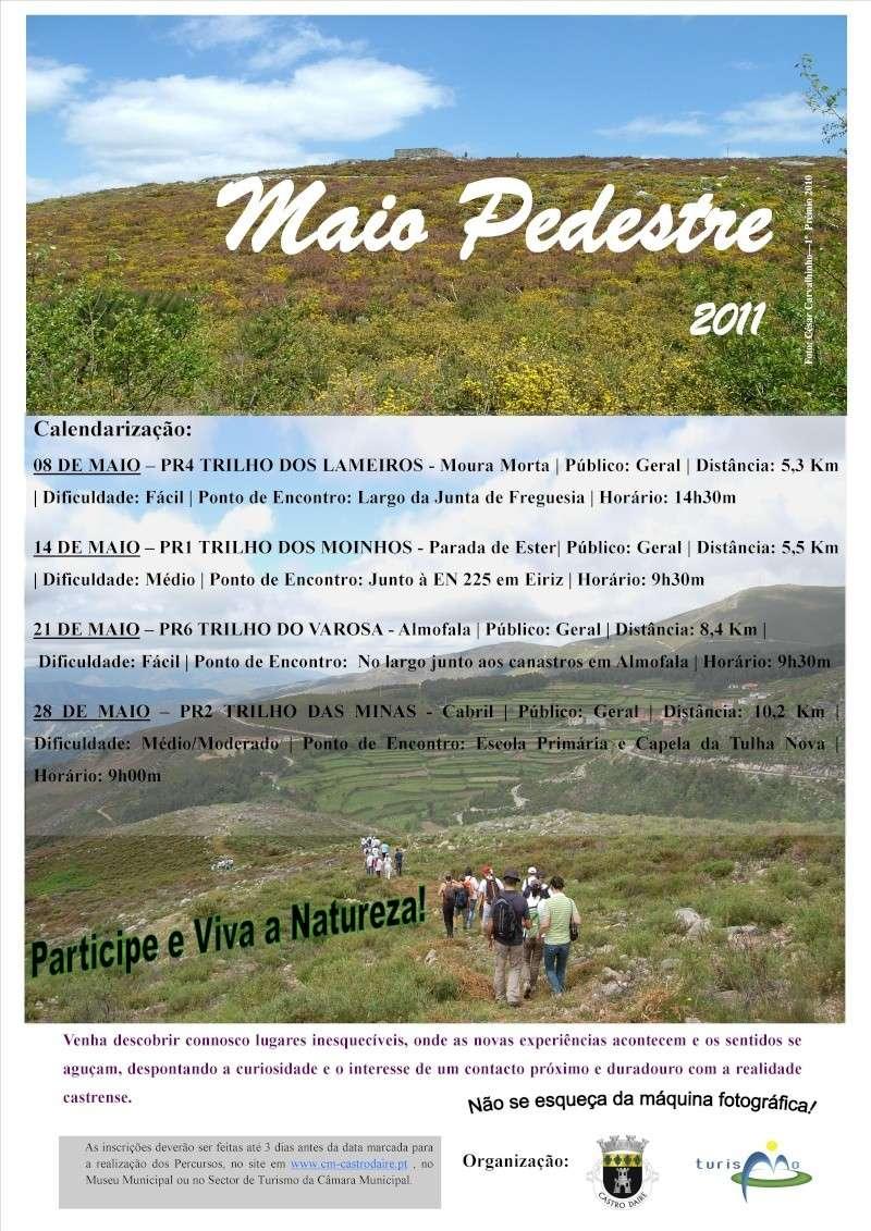 Trilho do Varosa (PR6) - Castro Daire - 2011/05/21 Cartaz11