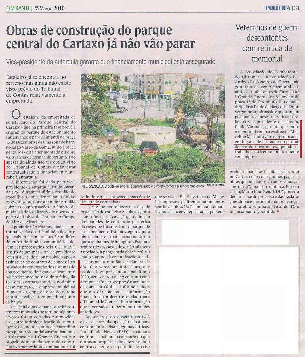 Cartaxo - Monumento aos combatentes Mirant15