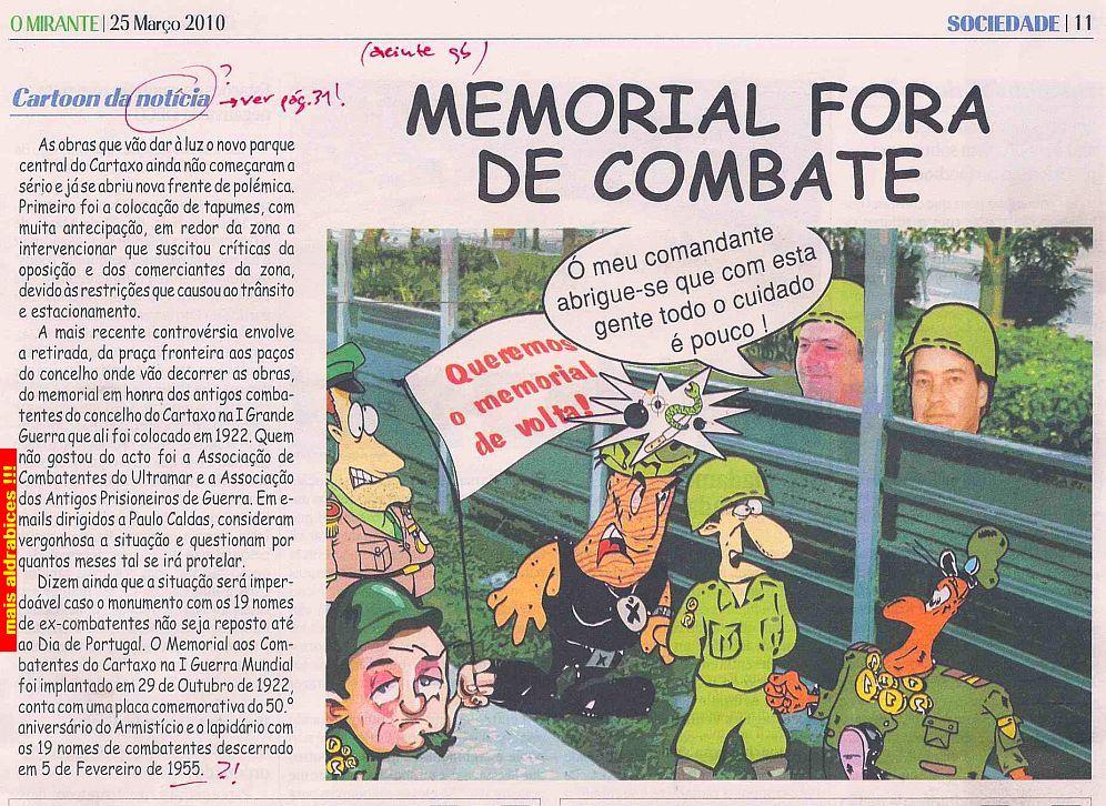 Cartaxo - Monumento aos combatentes Mirant16