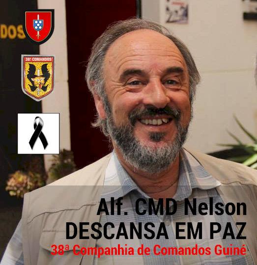 Faleceu o veterano Nelson Lopes dos Santos, Alferes Mil.º Comando - 35.ª e 38ª CCmds - 28Nov2015 Nelson11