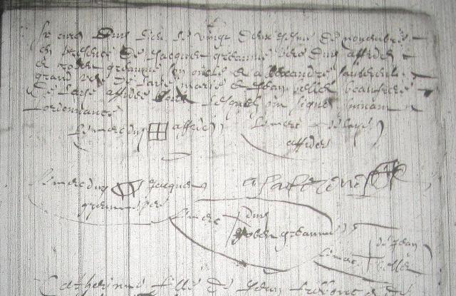 aide lecture mariage Greaume x Sautereul 1672 Greaum13