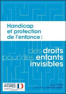 RAPPORT SUR LE HANDICAP et PROTECTION de l'ENFANCE Handi10