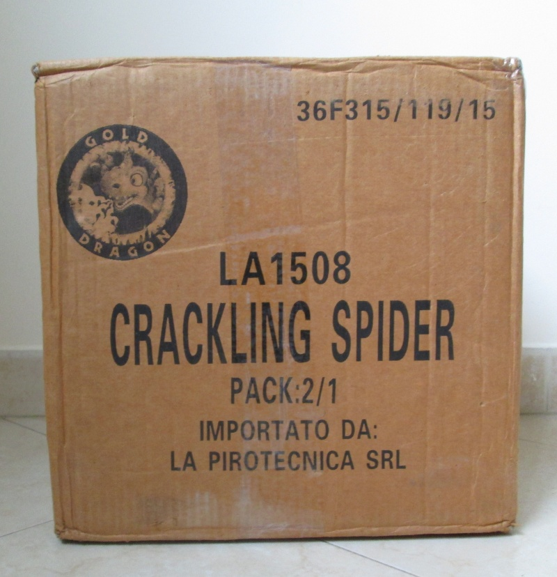 CRACKLIG SPIDER 00810