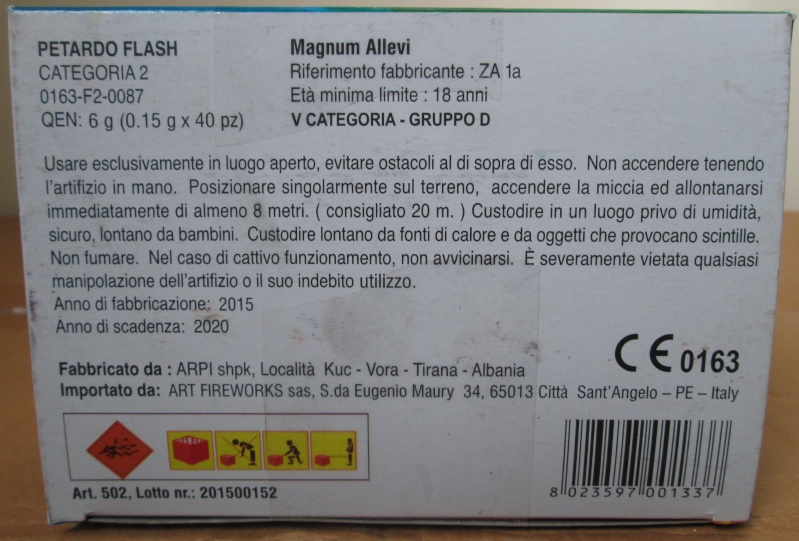 MAGNUM ALLEVI (ZEUS ALBA) 03110