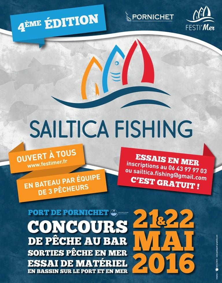 Sailtica Fishing 2016 ... 21 et 22 Mai à Pornichet Affich10