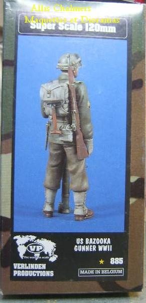 FIGURINE GI au BAZOOKA - 120 mm Gib110