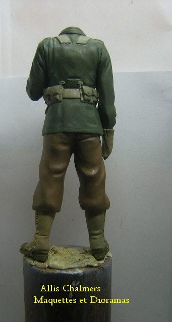 FIGURINE GI au BAZOOKA - 120 mm Gib610