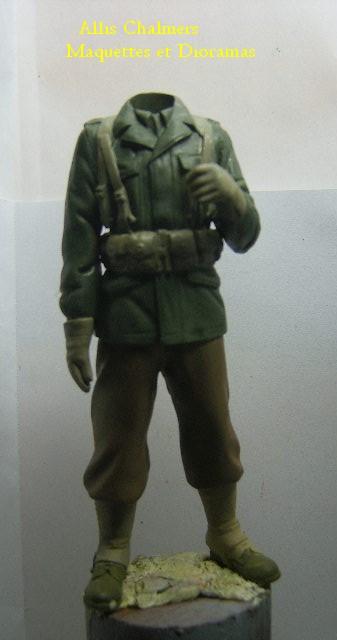 FIGURINE GI au BAZOOKA - 120 mm Gib710