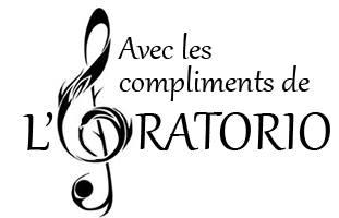 Avec les compliments de l'Oratorio 12386610