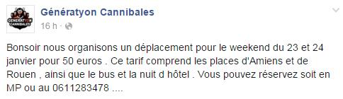 Déplacement Amiens + Rouen Gc10