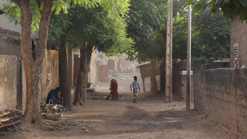 10- Bamako le quartier où j'habite. __boug11