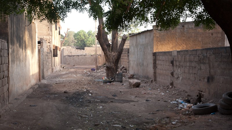 10- Bamako le quartier où j'habite. Bamako13