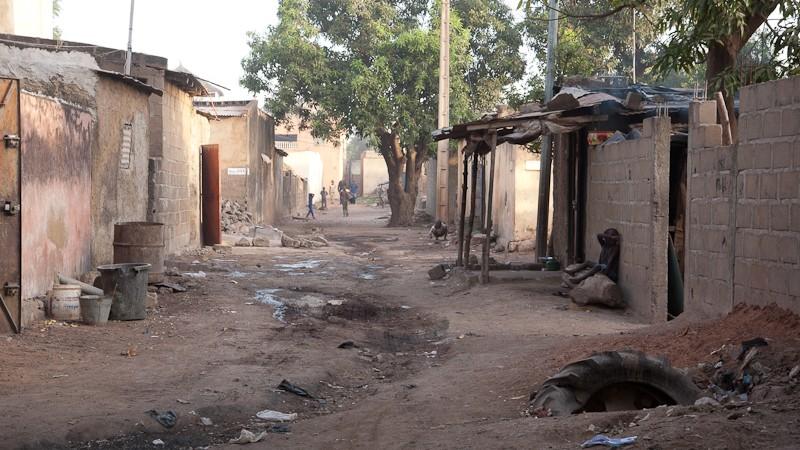 10- Bamako le quartier où j'habite. Bamako14
