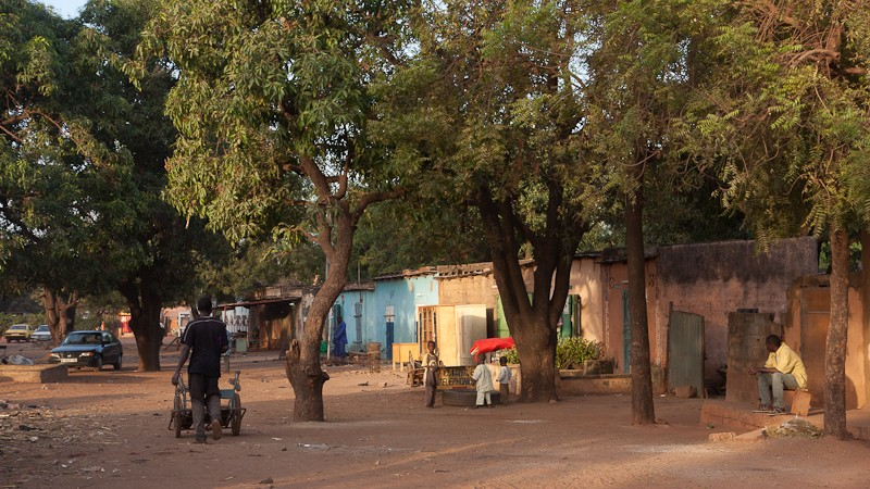 10- Bamako le quartier où j'habite. Bamako16