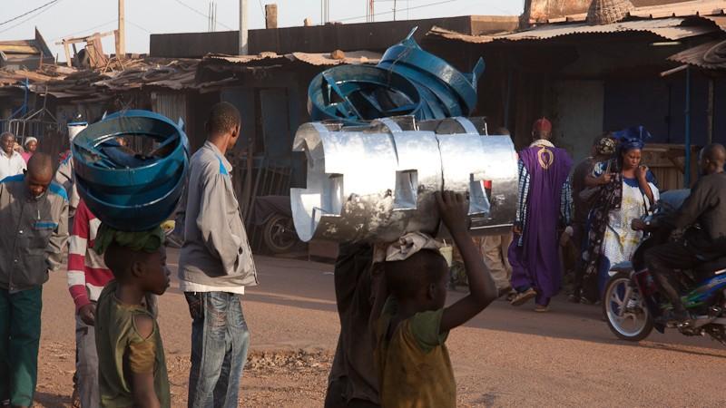11-Bamako le marché de Médine Marcha14