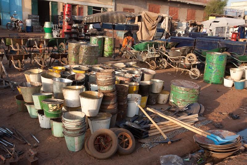 11-Bamako le marché de Médine Marcha21