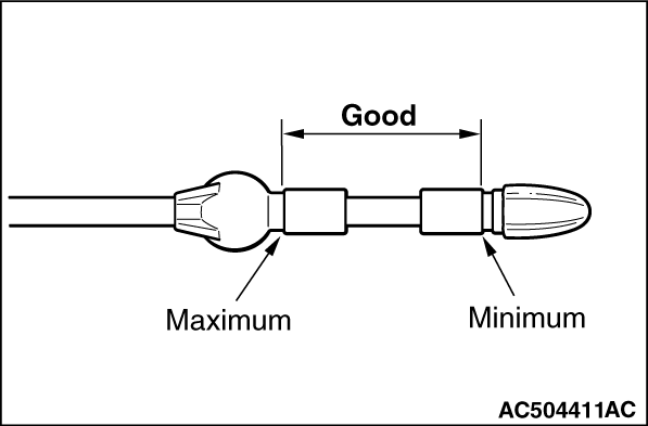 olio - Come leggere l'asta dell'olio motore Ac504410