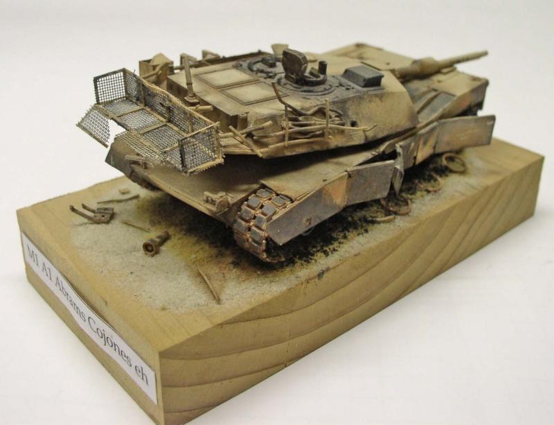 "Abrams M1 A1 ""COJONE EH"" Bagdad 2003 Hasegawa 1/72eme Abrams10"