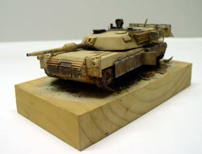"Abrams M1 A1 ""COJONE EH"" Bagdad 2003 Hasegawa 1/72eme Abrams11"