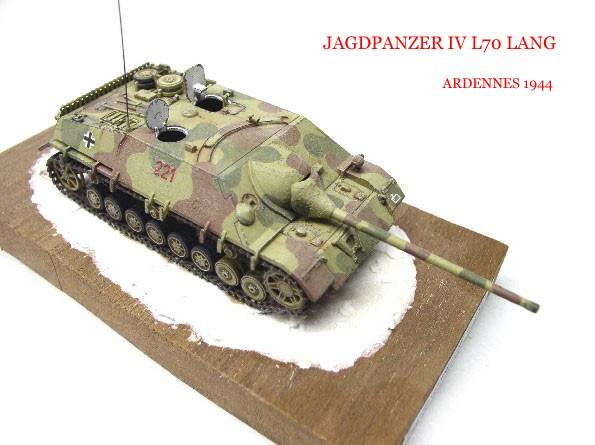 Jagdpanzer IV L 70 Hazegawa 1/72eme Img28810