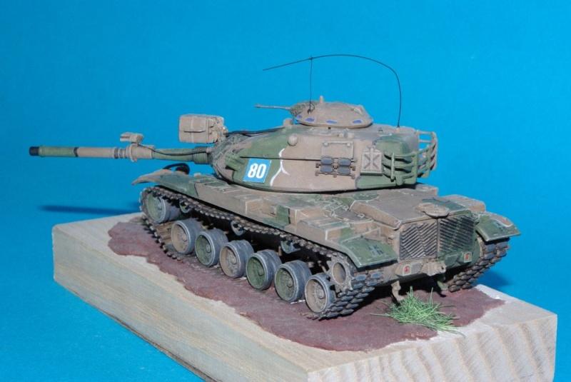 Patton M 60 A1 Reforger ( plastique ESCI et améliorations ) Imgp2831