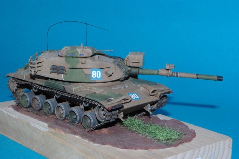Patton M 60 A1 Reforger ( plastique ESCI et améliorations ) Imgp2832