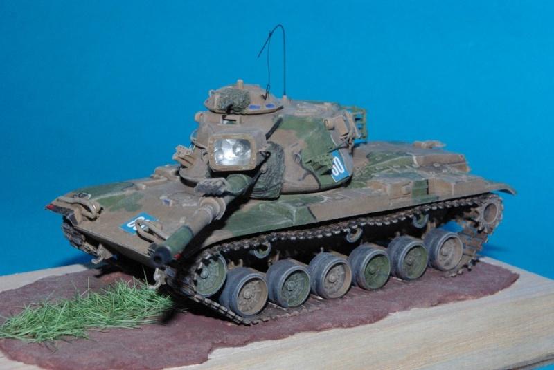Patton M 60 A1 Reforger ( plastique ESCI et améliorations ) Imgp2833