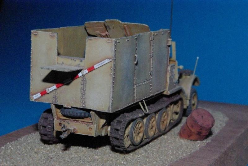 Sdkfz 6 Diana mit 7,62 cm FK 36 r ( résine Milicast ) Imgp2926