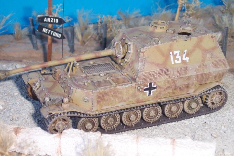Jagdpanzer Elefant ESCI 1/72eme Maquet12