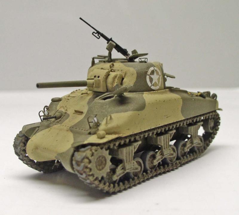 Sherman M4 A1 Dragon 1/72eme Sherma11