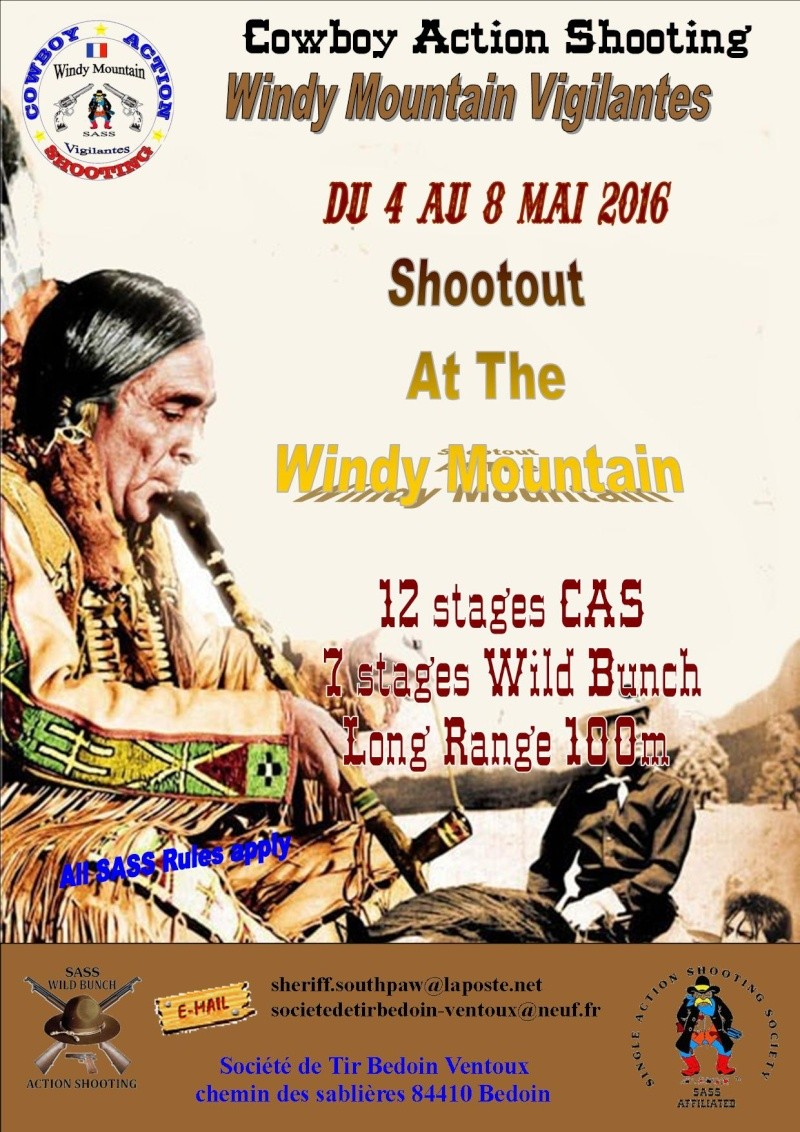 Shootout at the Windy Mountain -  Bedoin 2016 Affiche + bulletin d'inscription Affich10