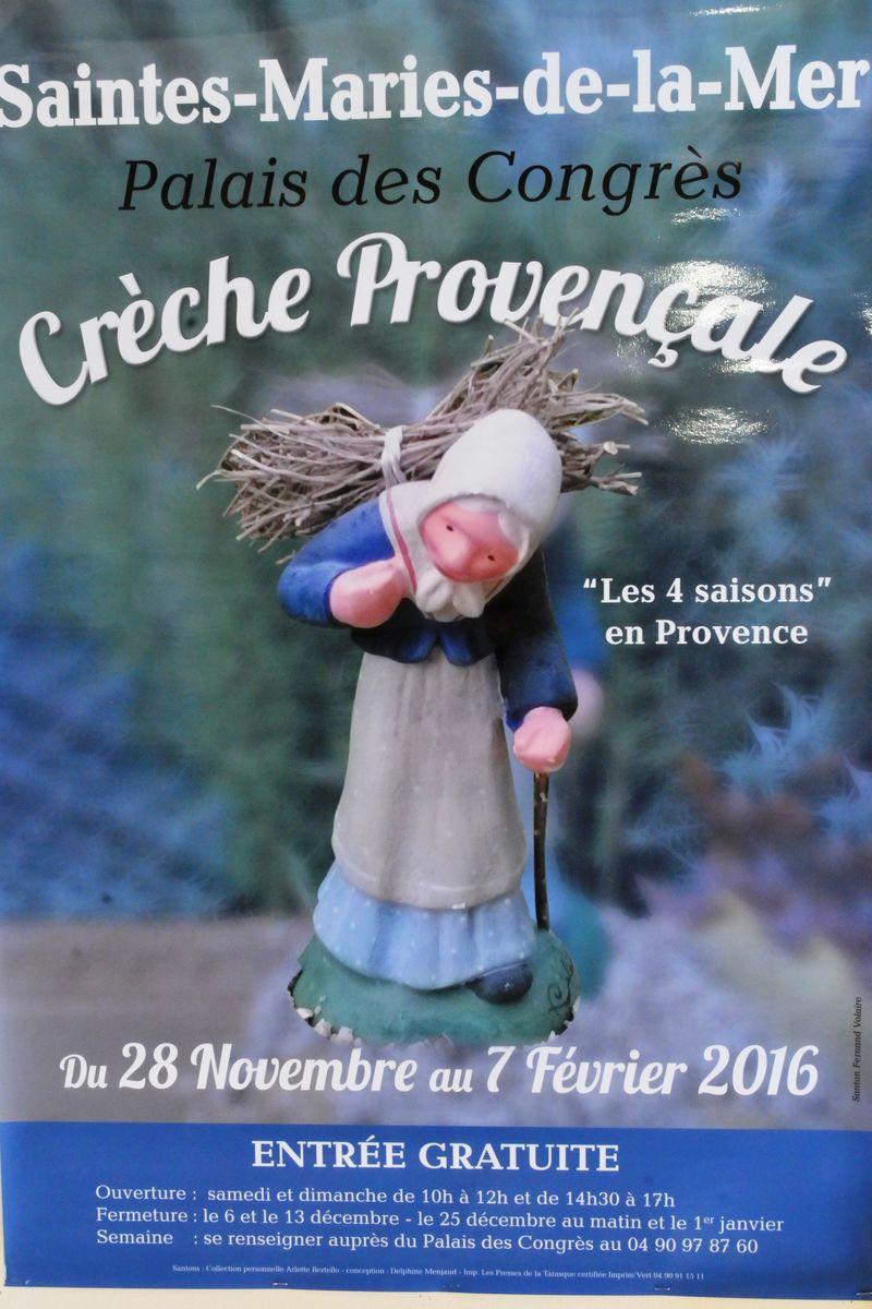 La grande crèche provençale des Saintes Maries de la Mer 2015 2015-112