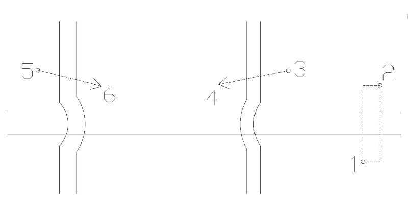 [討論]分享連續畫管線(單&雙線)交叉處橫跨弧線.LSP  E6ue7k10