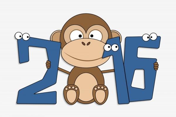 祝大家猴年新春愉快,事事如意! Monkey10