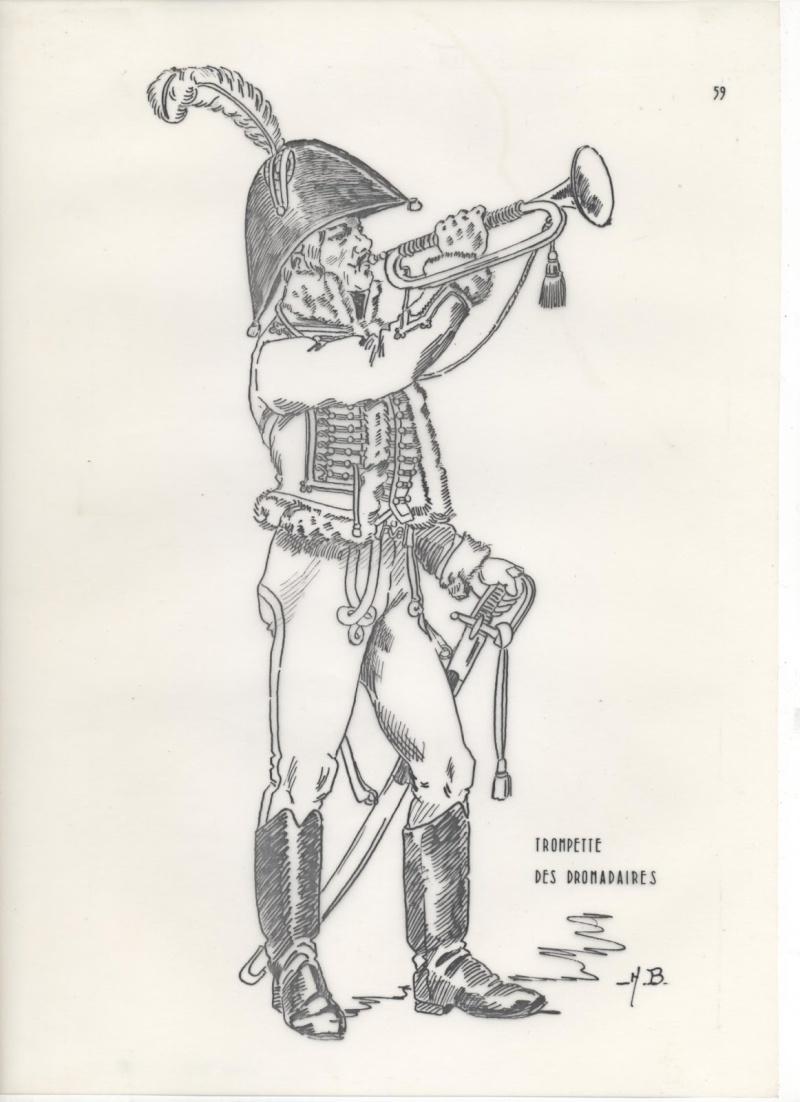 Trompette du Régiment des Dromadaires en 1800 (180 mm) 311