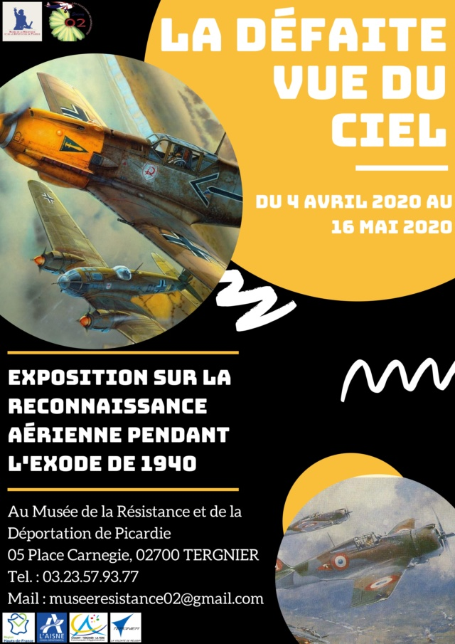 """Les conférence et exposition sur """"La drôle de guerre"""" vue du ciel ! 0001112"""