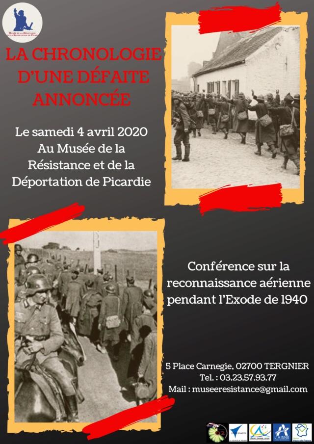 """Les conférence et exposition sur """"La drôle de guerre"""" vue du ciel ! 0001113"""