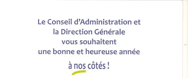 Voeux du Conseil d'Administration et de la Direction Générale du Clair Logis. Clair_13